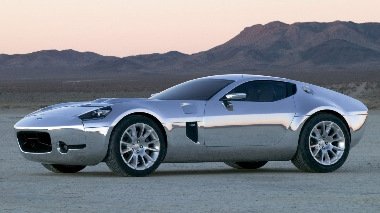Yes, Please: Superformance Is Going To Produce The 2005 Ford Shelby GR-1 Concept!