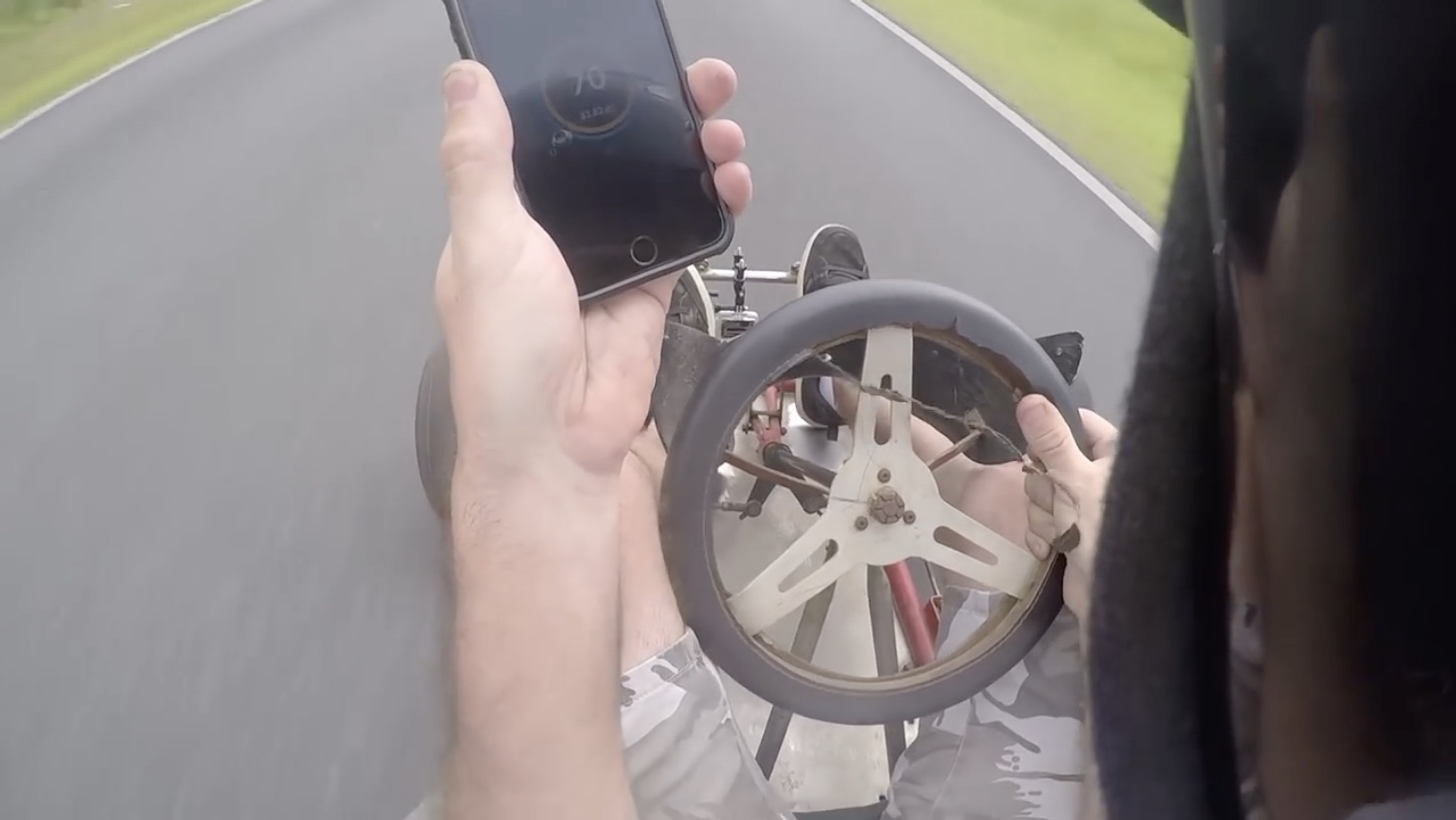 Life Insurance…Check: 72 Miles An Hour In A Go-Kart? Seems Safe Enough To Us!