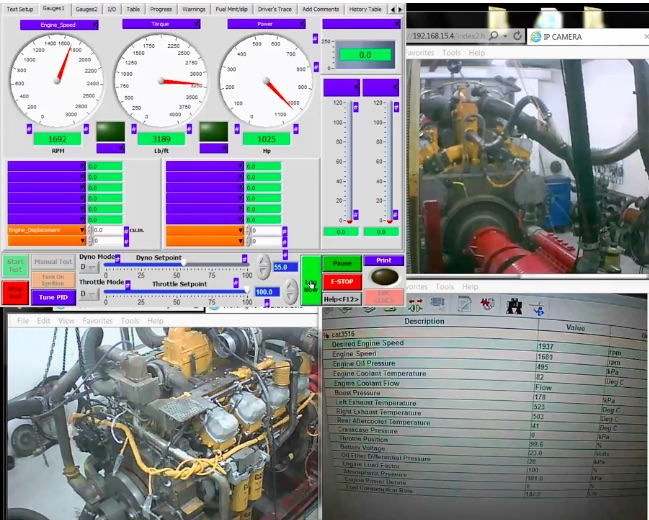 Boss Cat: This Monster Caterpillar 3508 V8 Makes 1030hp and 3070 Ft/Lbs Of Torque on The Dyno!