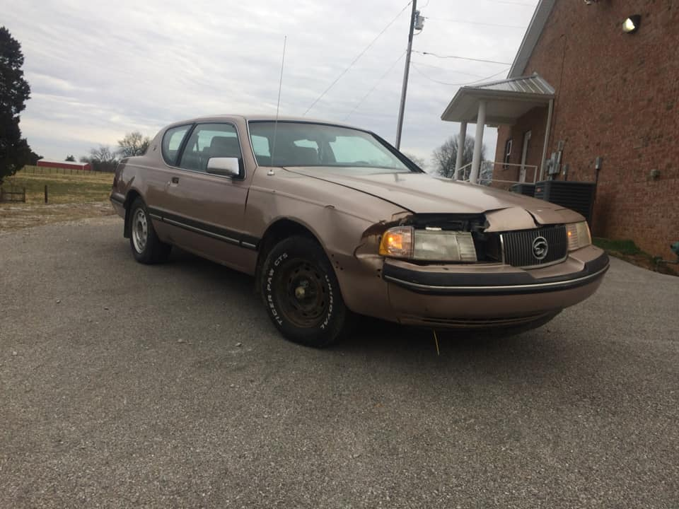 The Dirty Cougar: Just A Little Bit Of Elbow Grease And The $400 Mercury Is Already Being Driven!