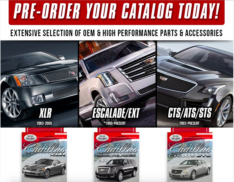 OPGI Is Coming Out With Modern Cadillac Catalogs: PRE-ORDER YOURS TODAY