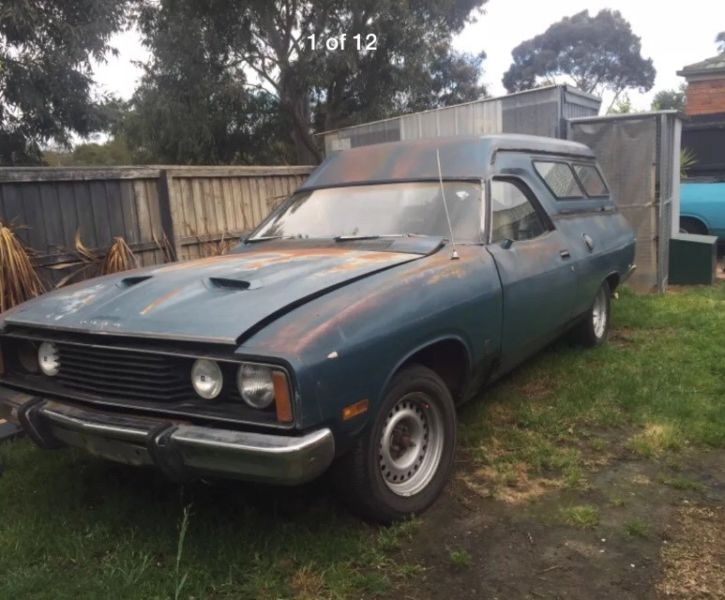 Rough Start: Want An Aussie Falcon But Need Space? This 1977 Ford Falcon XC GS Panelvan Should Do The Trick!