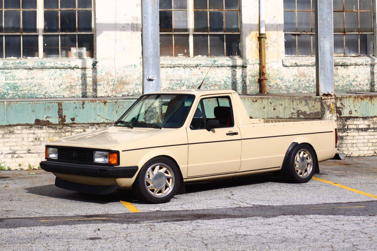 """The """"WTF?"""" Files: A Bed-Mounted VR6-Powered VW Caddy – Rear Engine Minitruck, Euro-Style!"""