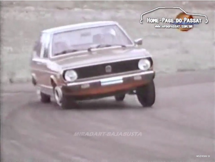 Weirdest Vintage Car Review Ever: Watch A 1974 VW Dasher Get Thrashed On