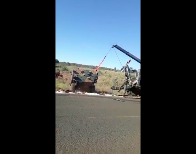 Video: That's Not Why It's Called A Wrecker – Someone Call The Colonel!