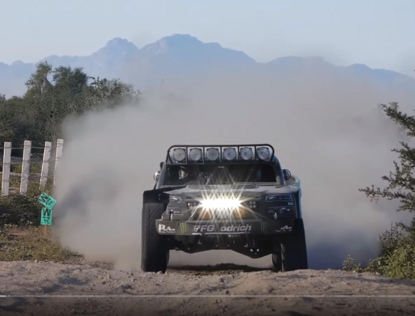 The Azteca War – Elias Hanna's Baja 1000 Experience On Video