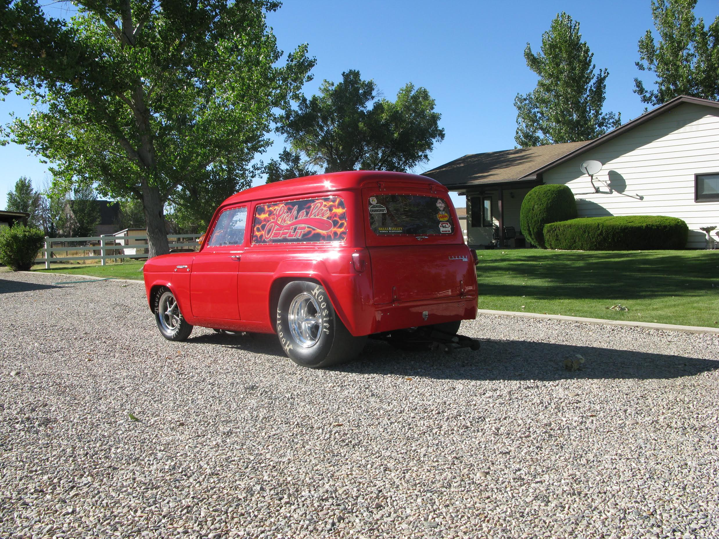 Lick-A-Dee Split: This 1955 Ford Escort 100E Is A Homebuilt Handful!