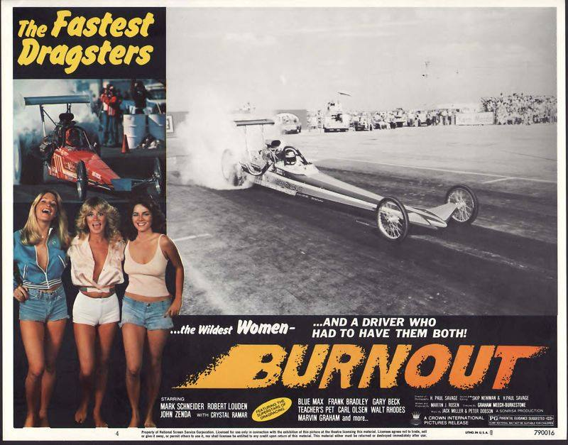 Epic Tuesday Time Killer: BURNOUT – This 1979 Drag Racing Movie Is So Awful It Rules