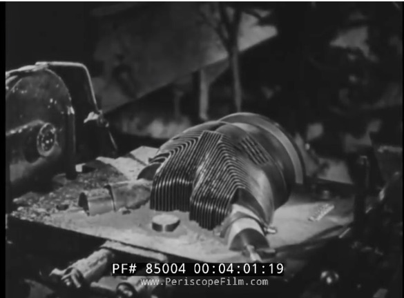 Incredible Video: This 1942 Film Takes Us From Casting To Finished Product At A Curtiss-Wright Airplane Engine Factory