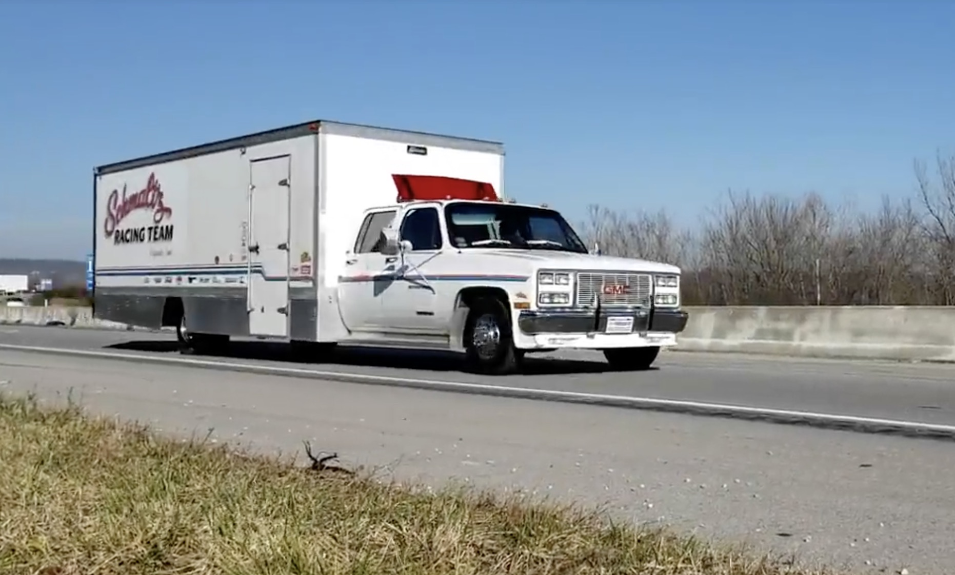 Big, Beautiful And Broken: Finnegan's Bought A Monster Square-Body Box Truck!
