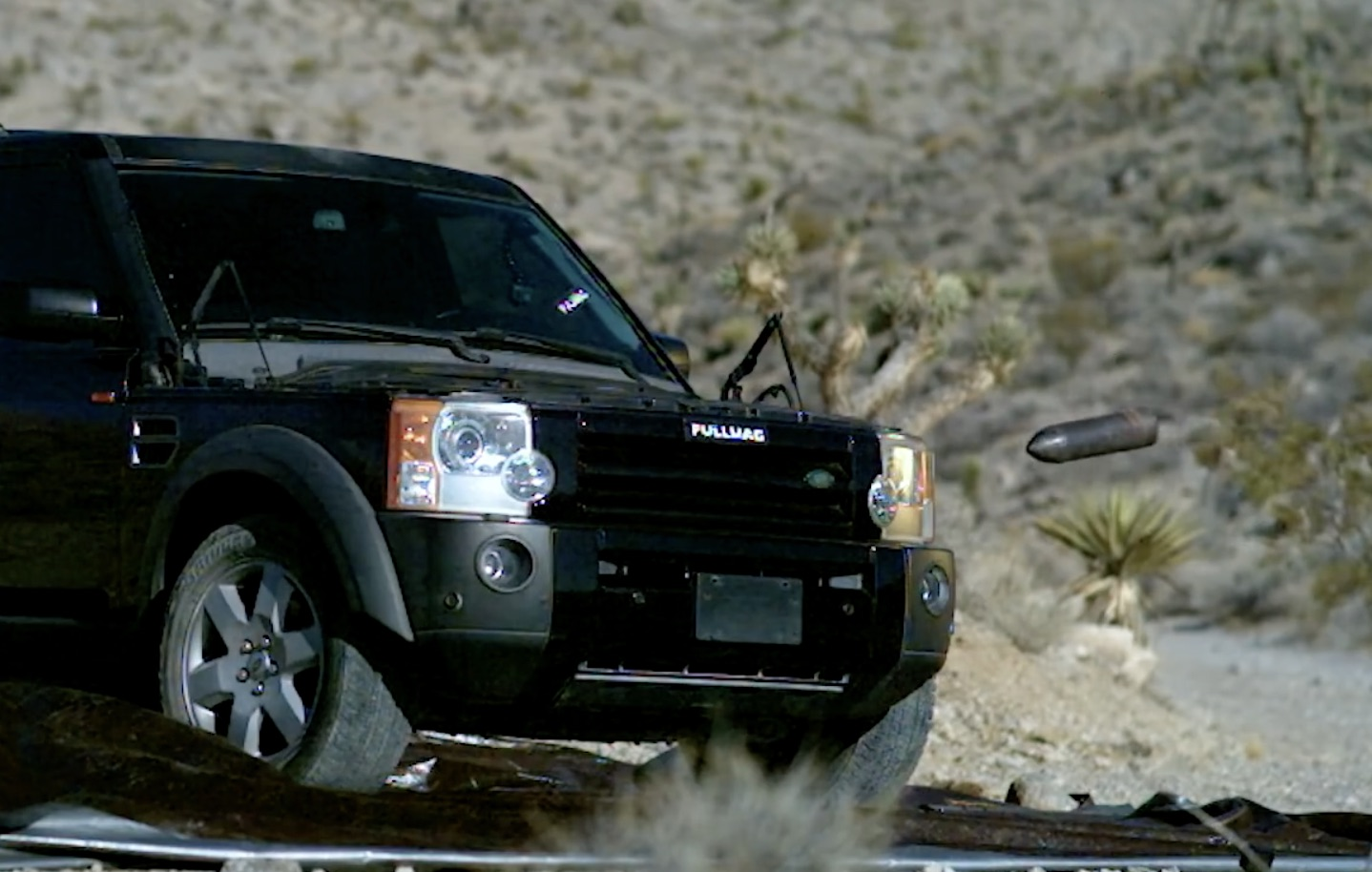 Fire For Effect: This Land Rover LR3's Days Come To An Abrupt End!