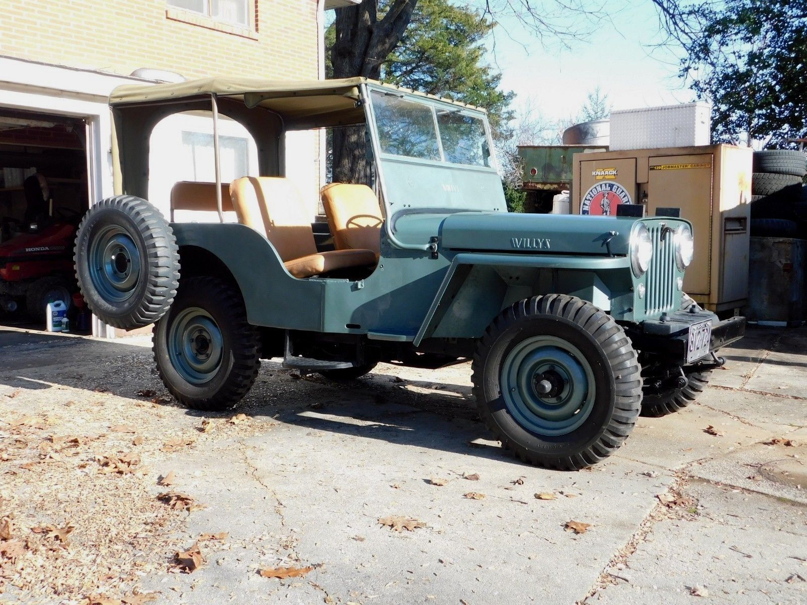 This 1948 Willys Jeep CJ-2A Is An Awesome And Accurate Look At The post War Jeeps America Fell In Love With