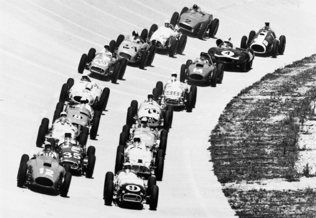 Historic Video: The Race Of Two Words Was Run At Monza in 1957 and 1958 – USA vs The World!