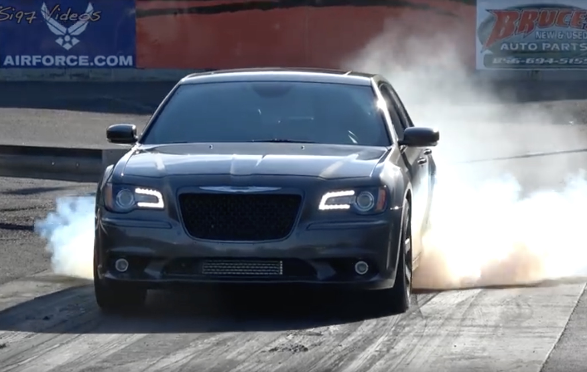 How It Should Be: This Twin-Turbo Hellcat-Swapped Chrysler 300 Storms Atco!