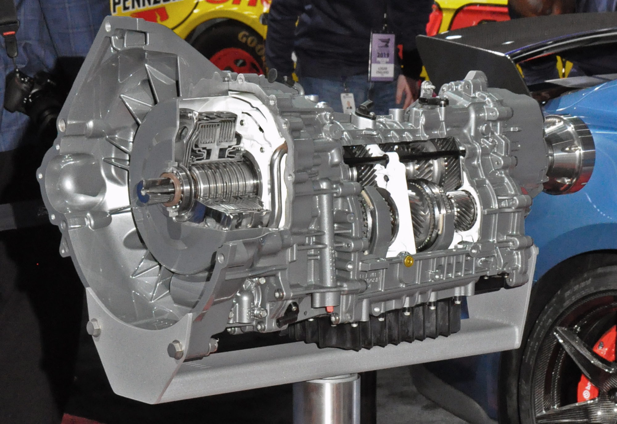 Better Than A Stick? Here's A Look At The New TREMEC 7-Speed Dual Clutch Transmission In The Shelby GT500