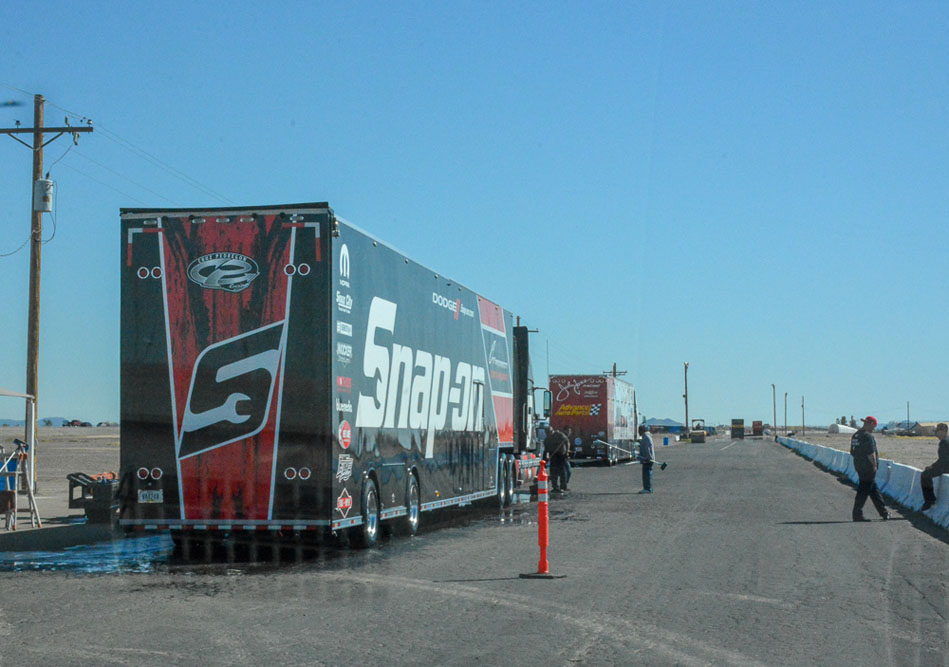 Setting Up The 35th Annual NHRA Arizona Nationals – Before Burning Nitro!