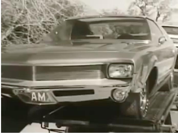 This Vintage AMC Commercial Is Fun – See The AMX Concept and More – 1960s Camp!