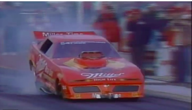 Watch The Top Fuel, Nitro Funny Car, and Pro Stock Finals From The 1985 NHRA Winternationals