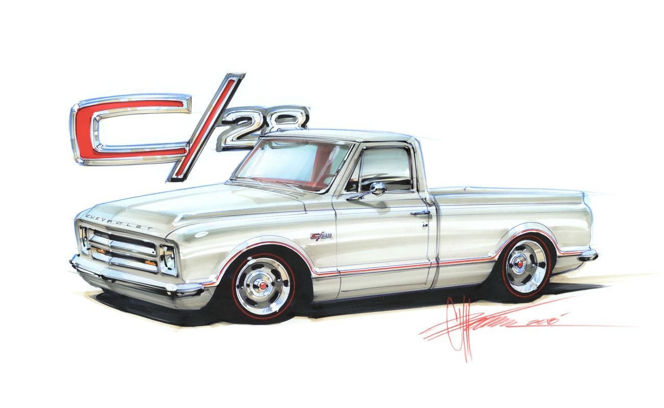 Chip Foose Is Building A Z28 Inspired C10 Truck, Check Out The First Three Video Installments Right Here