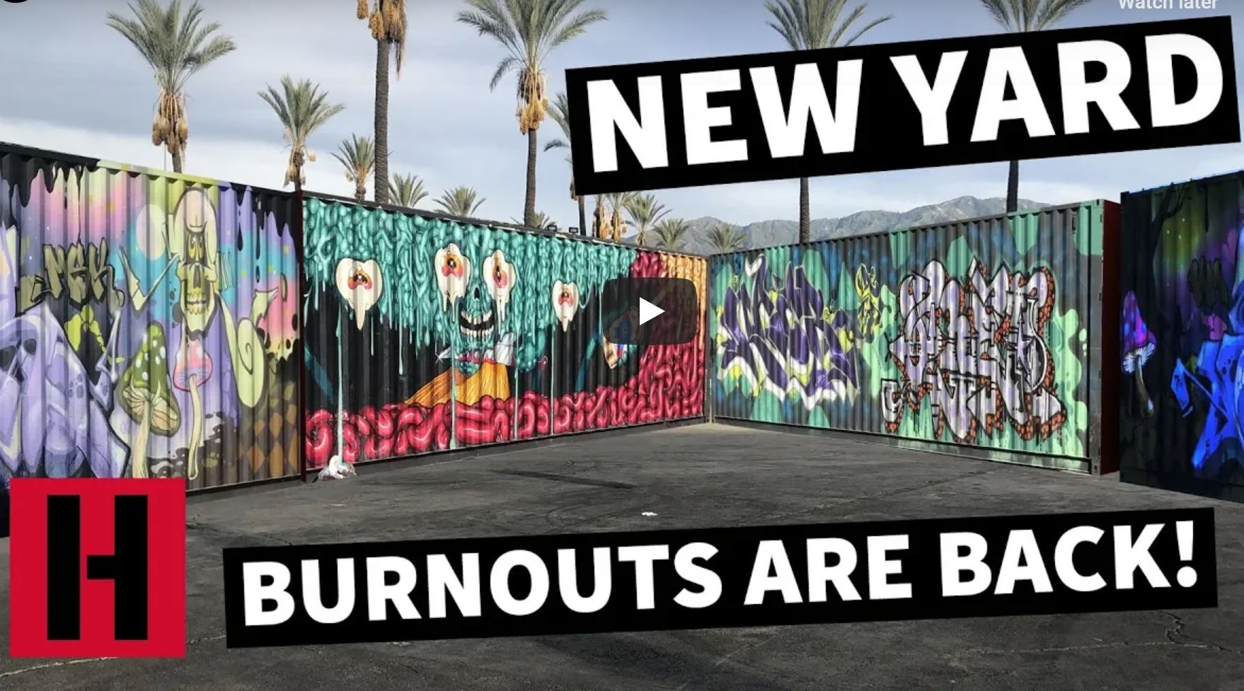 The Hoonigans Have A New Yard! After Being Shut Down From Doing Burnouts By The City, They Will Resume Now!