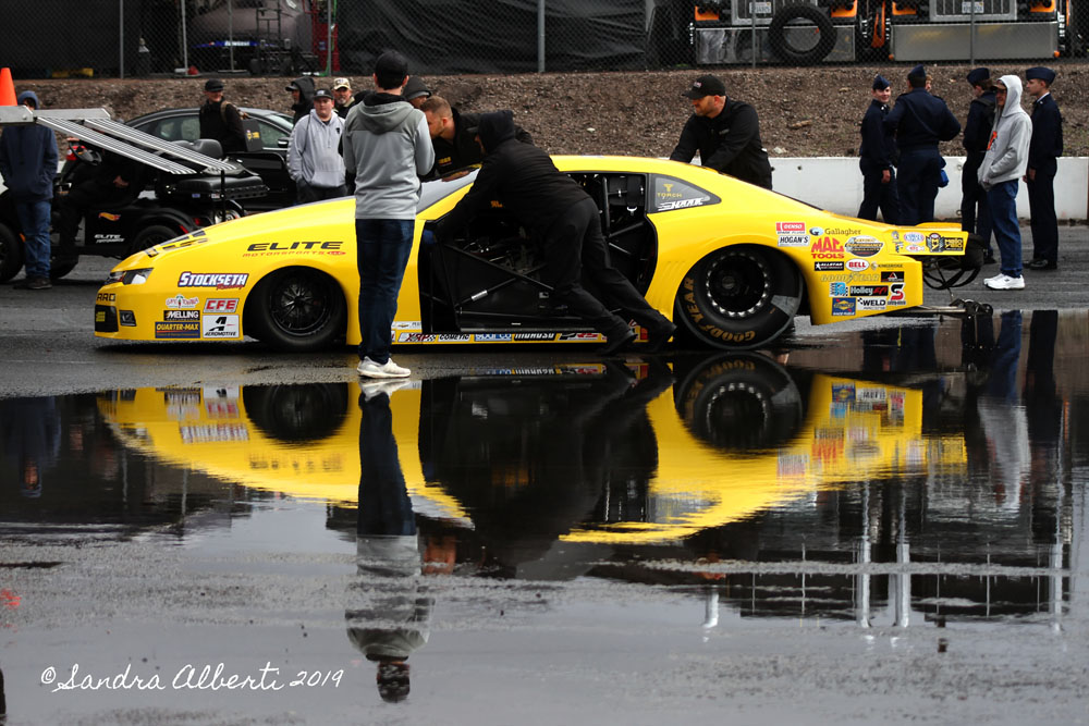 Cold And Wet Weather Welcomes NHRA Arizona Nationals Racers!