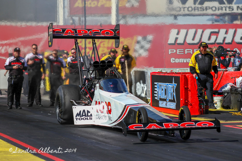 Improving Weather For 35th Annual NHRA Arizona Nationals Eliminations!