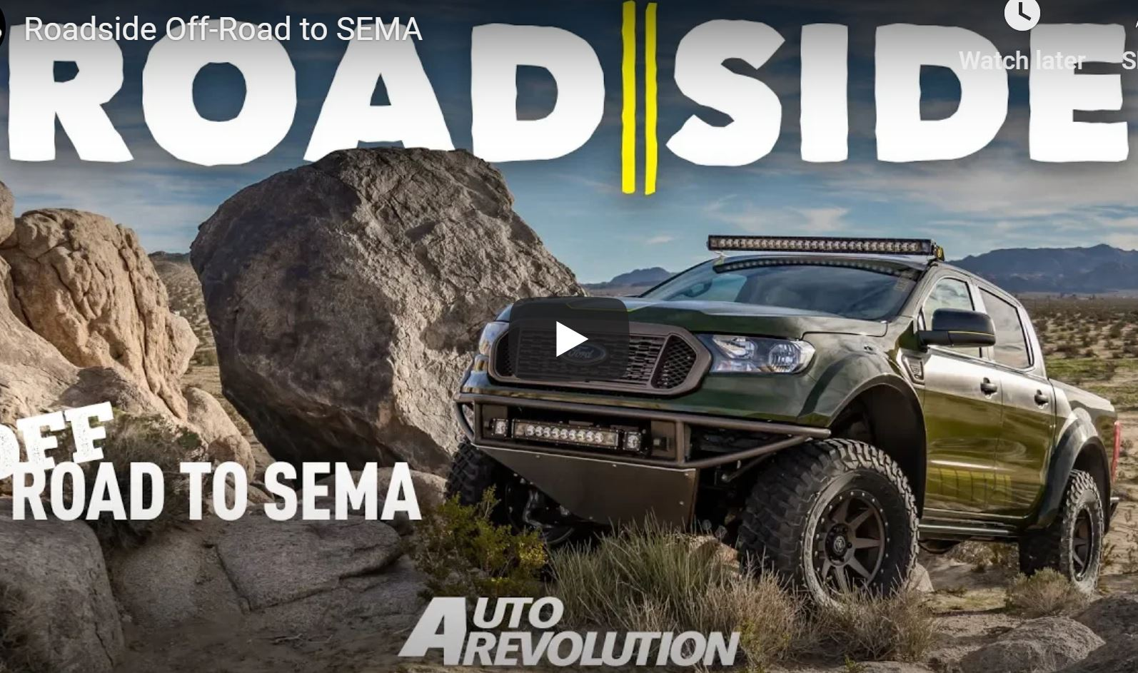 Off-Road To SEMA: Watch The New Ford Ranger Be Transformed Into A Beast For The SEMA Show
