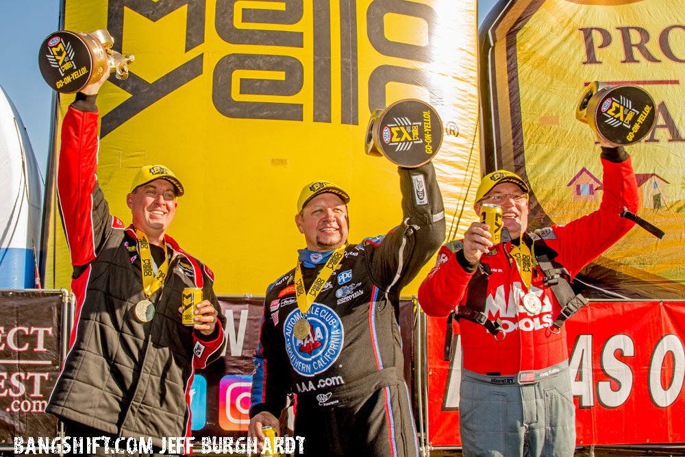 Kalitta, Hight And Butner Start The NHRA Mello Mello Season With Wins At Winternationals!