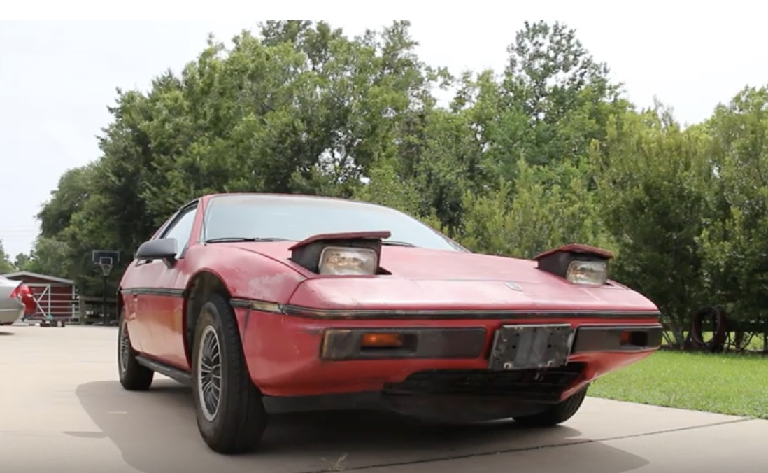 The Fiero Revival: Detail Fixes On The 1985 Fiero That Hadn't Moved In Twenty Years