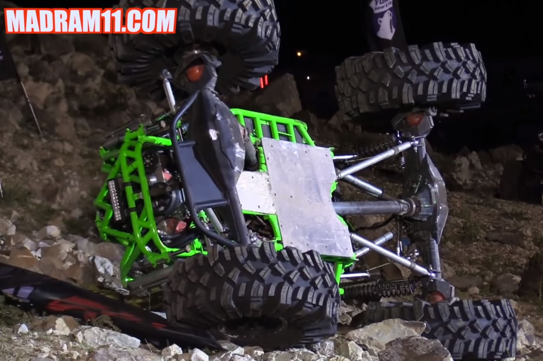 The King Of The Hammers Rock Bouncer Shootout Was Full Of High Flying, And Flipping, Action!