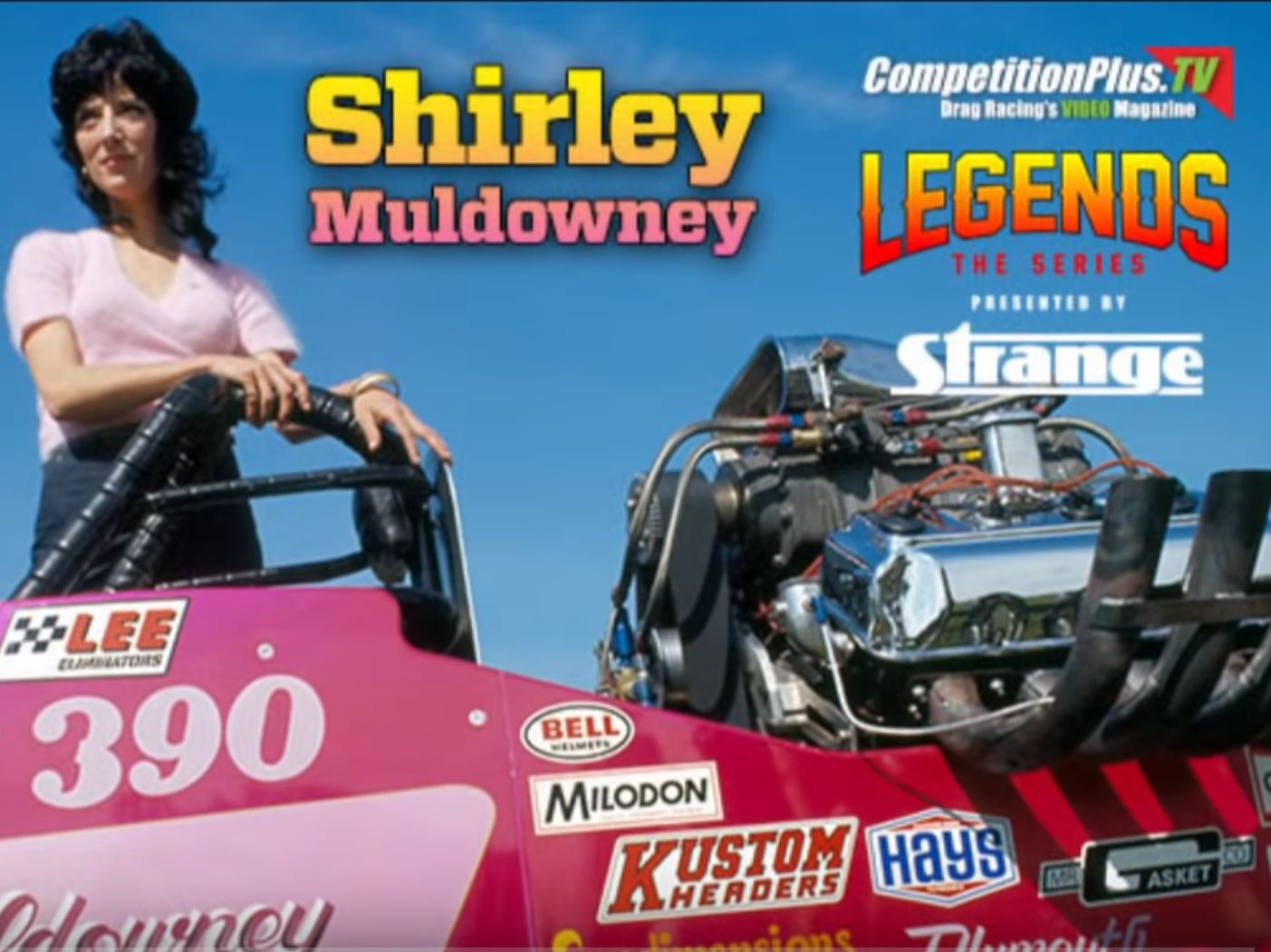 The Season Premiere Of Legends: Shirley Muldowney, The Woman That Changed Motorsports Forever