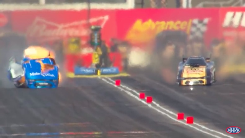 Boss Level Video: Watch Tommy Johnson Jr Drive An Exploding Funny Car To A Round Win Like A Boss