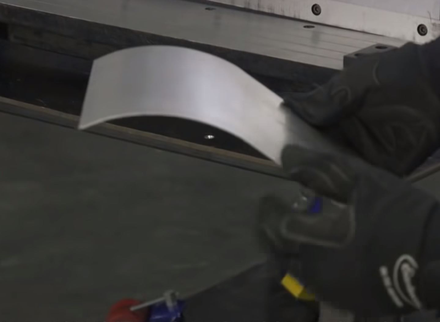 Sometimes The Right Tool Is All You Need: This 3 in 1 Shear, Brake, And Slip Roller Makes A Trans Tunnel Super Easy To Build