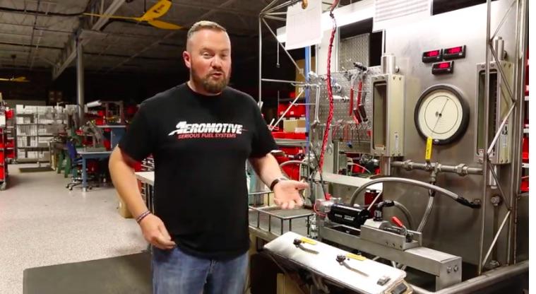 Video: Fuel Pump Technology Video – Bench Testing An Aeromotive Brusless Pump Shows Its Benefits