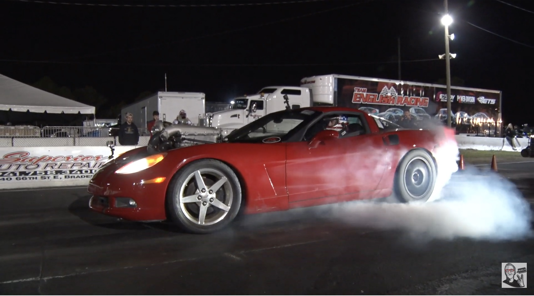 Into The Nines! The Auction Mistake Corvette Comes Out Of The Gate Swinging With It's Powerglide Swap!