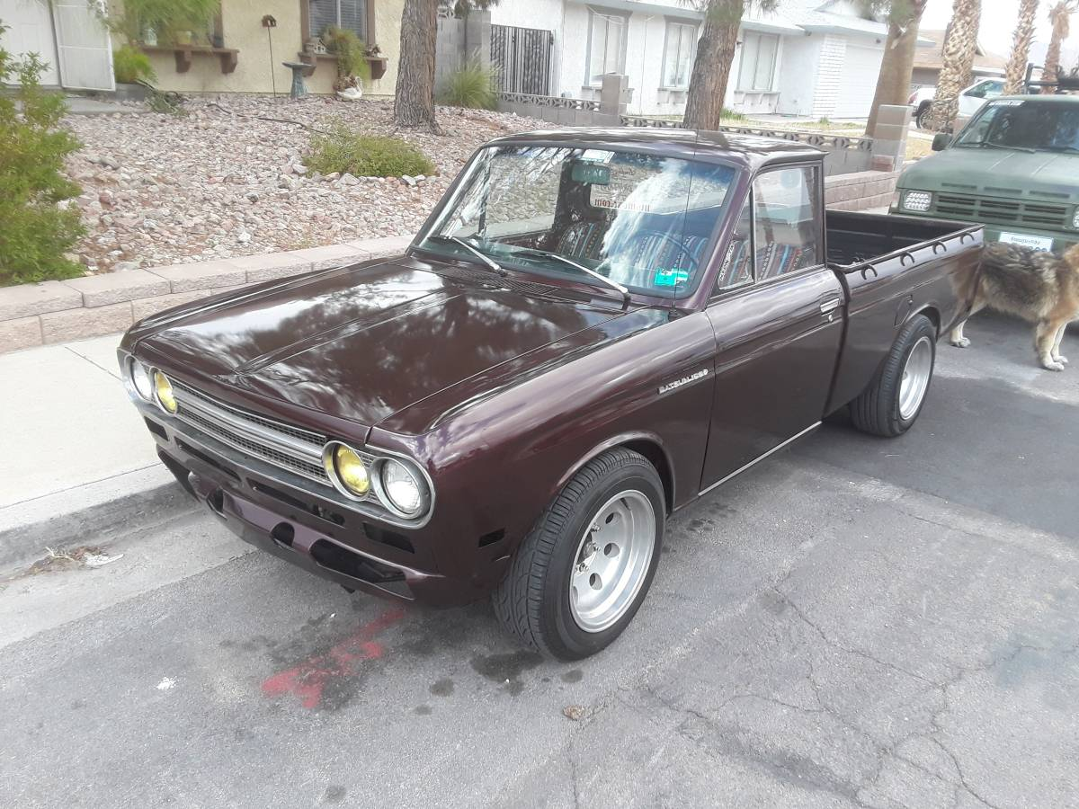 Suggested Serving: This 1971 Datsun 521 Flies In The Face Of The Giant Pickup