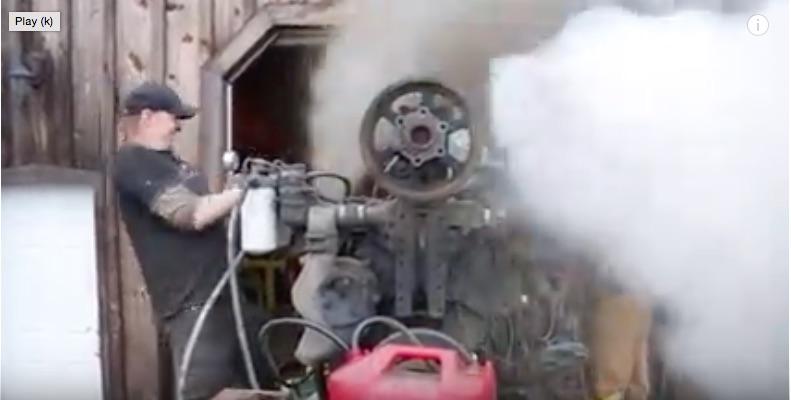 BangShift com Crusher Bound Detroit Diesel V-16 Two Stroke