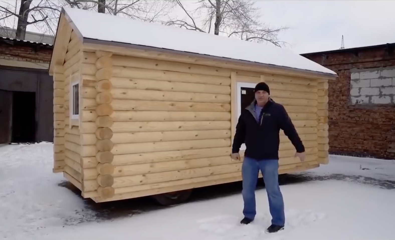 Beating The Siberian Winter In A UAZ-based Mobile Sauna…Yes, Really.