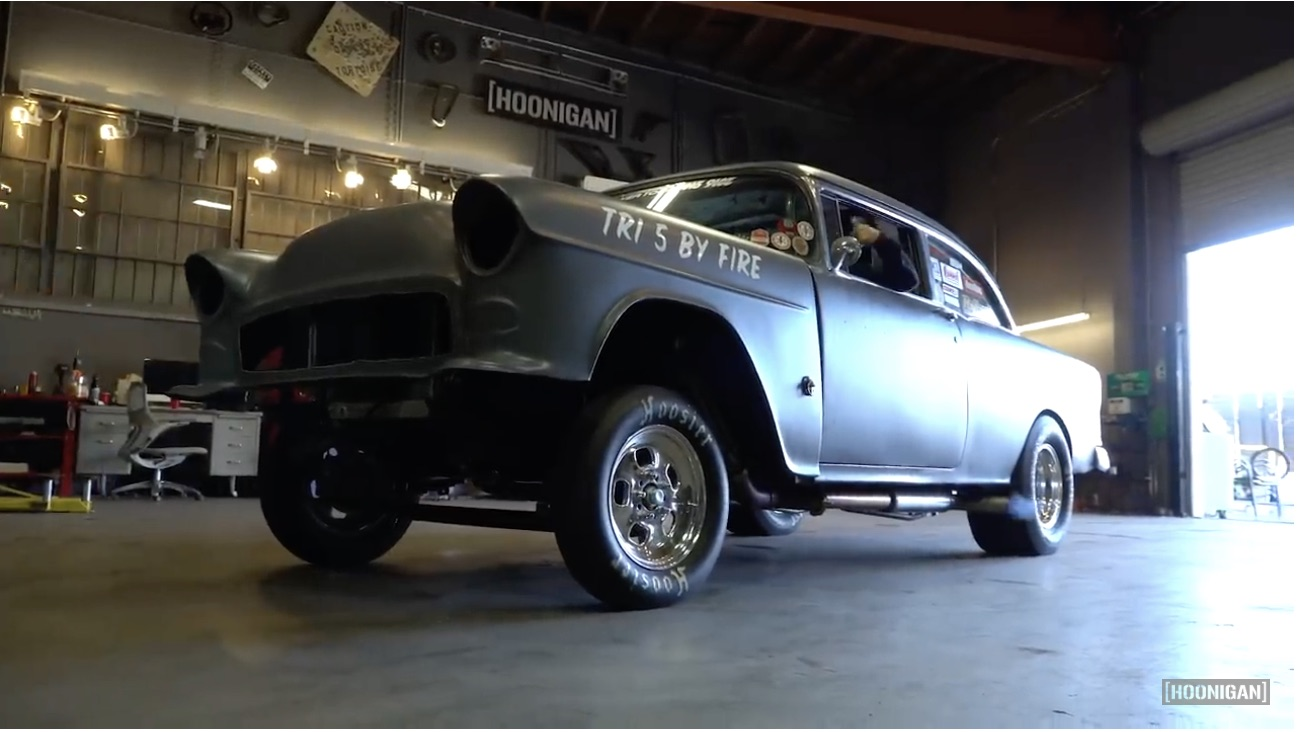 """Go In-Depth With The """"Tri 5 By Fire"""" 1955 Chevy That Went Against Finnegan"""