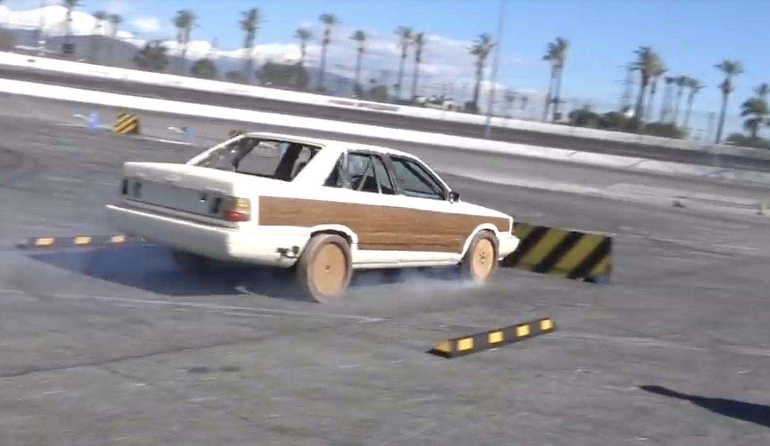 Wood Wheels, All Wheel Drive, And The Hoonigans…What Can Go Wrong Here?
