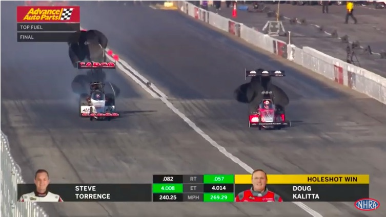 Watch Doug Kalitta's Dramatic Top Fuel Win At The NHRA Winternationals – The Streak Is OVER