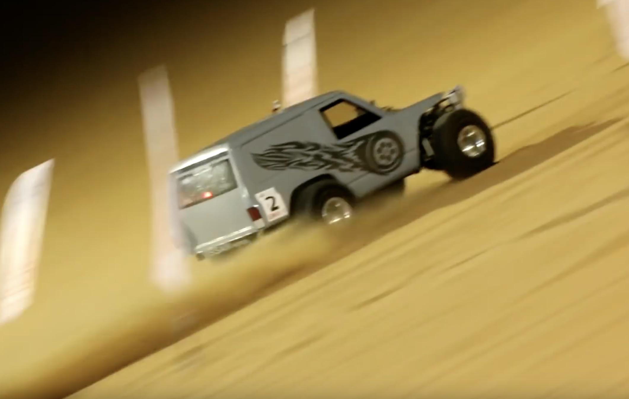 Morning Symphony: The Liwa Sand Dune Hillclimb In The UAE