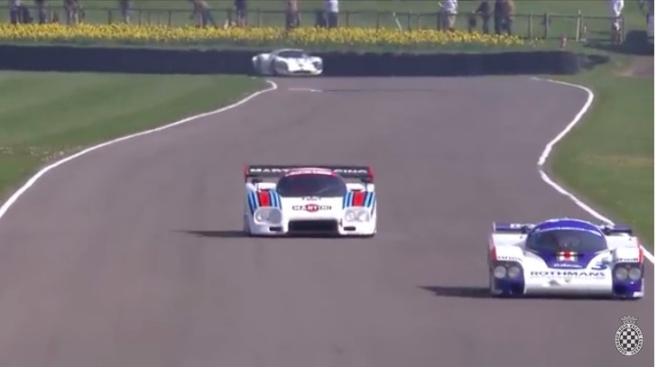 High Speed-Low Drag: This Video From Goodwood Shows Off Low Drag LeMans Specials