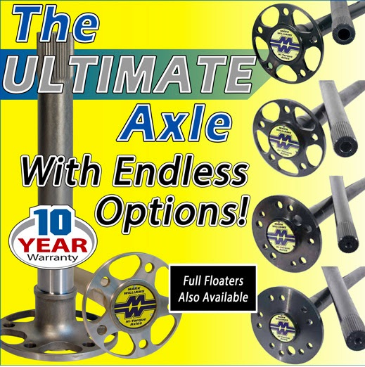 Got An Axle To Grind: Mark Williams Hi-Torque Axles Are Strong and Ultimately Customizable