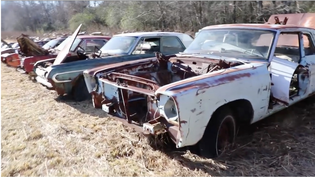 The Field Of Skeletons: Take A Walk Through A Muscle Mopar Graveyard