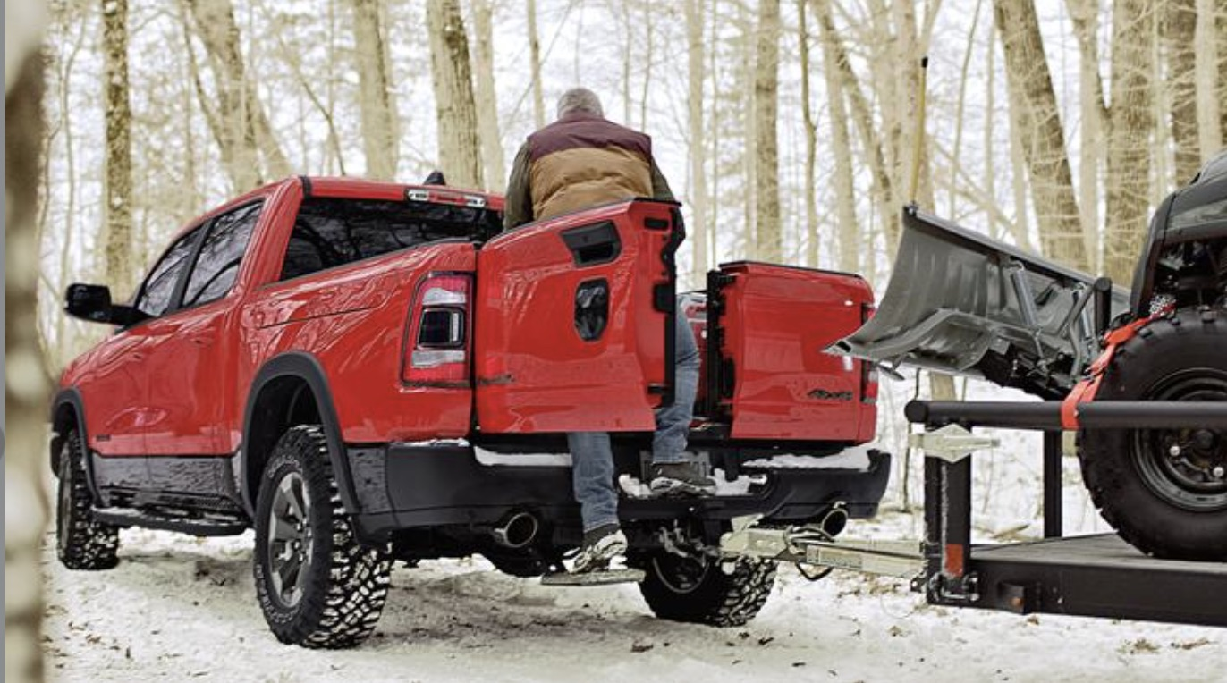 Unveiled: Ram's New Multifunction Tailgate For Half-Tons – Swing However You'd Like To!
