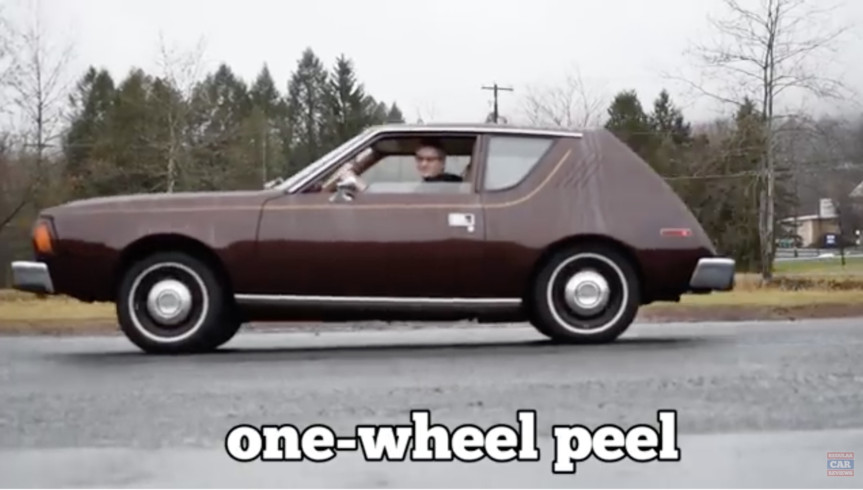 Solid Brown, Baby: Regular Car Reviews Takes On A 1976 AMC Gremlin!