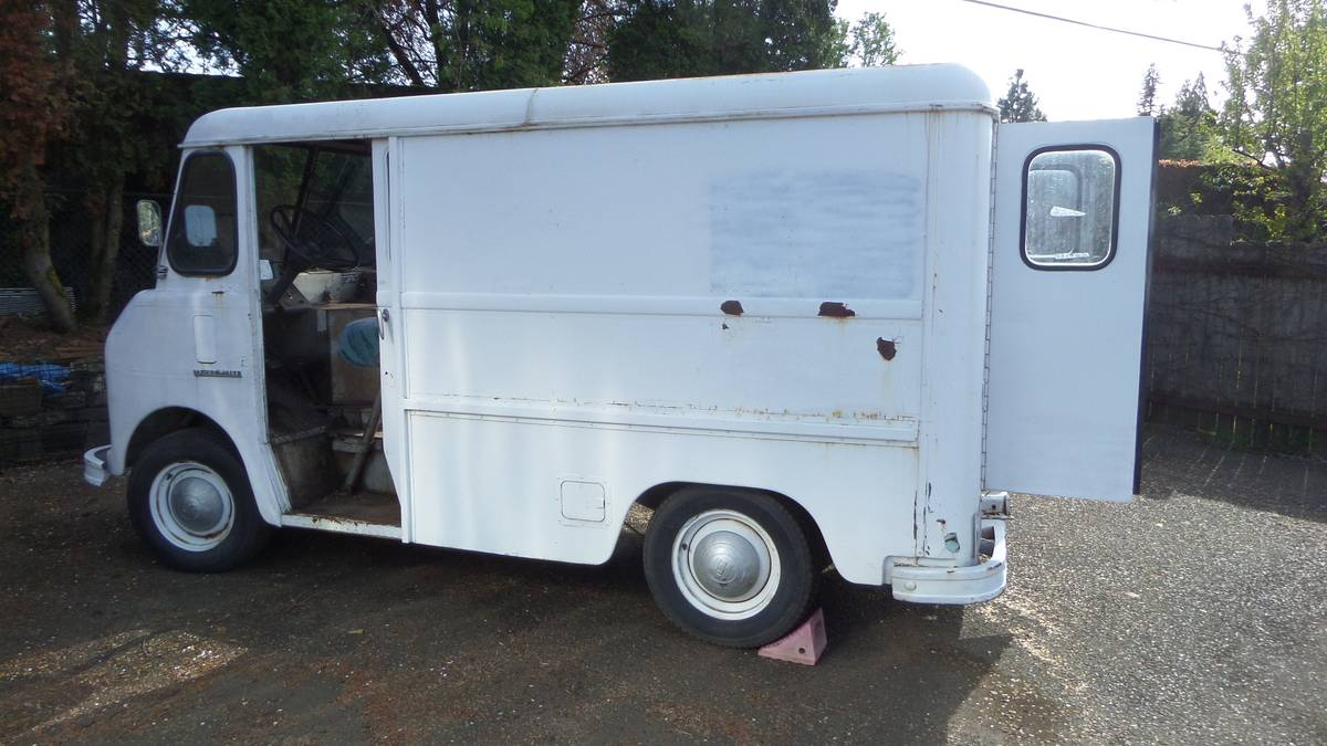 This 1964 International Metro Mite Van Has An Almost Done LS Swap And Would Be A Rad Cruiser!