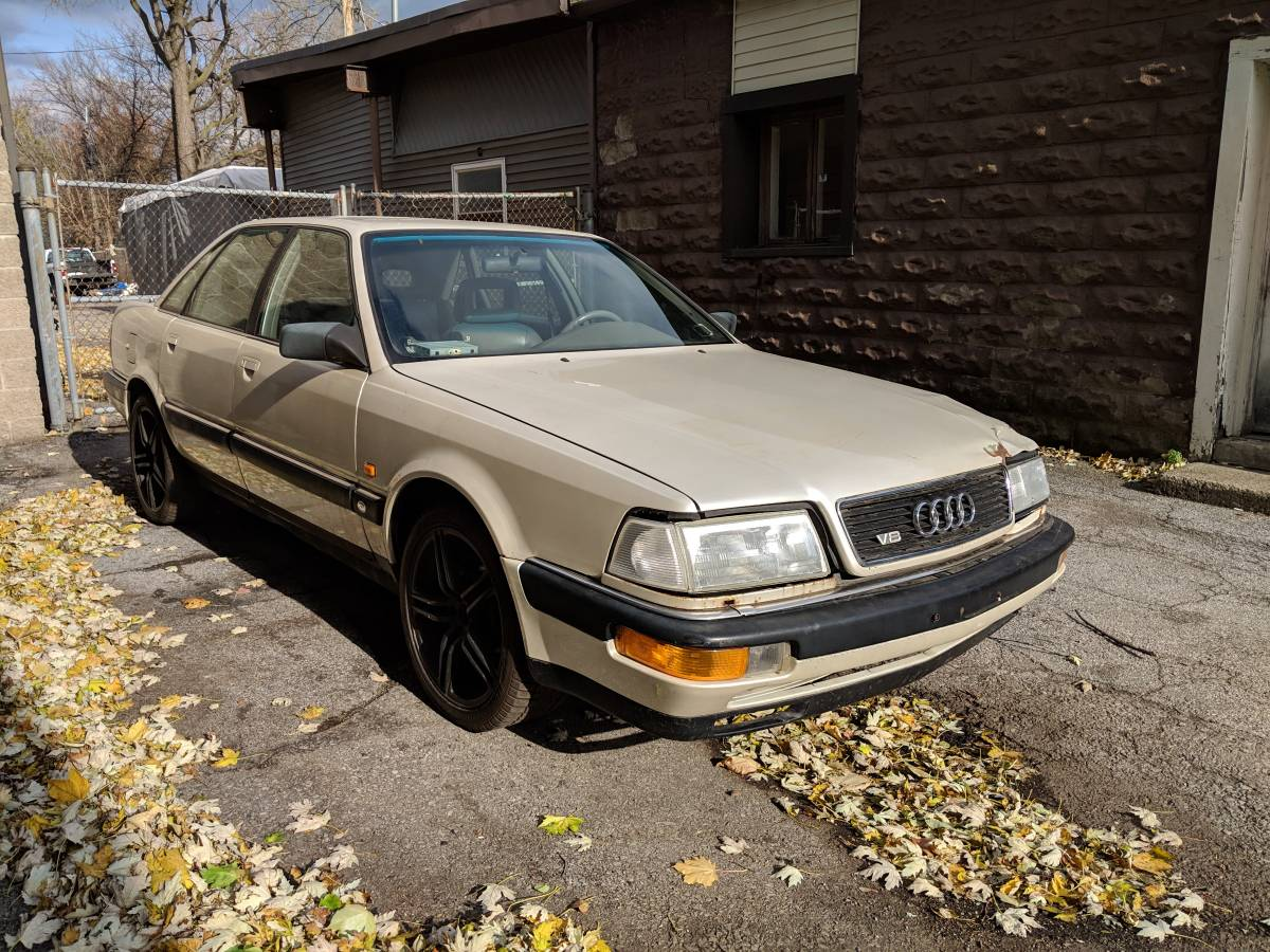 Rough Start: V8, Stick Shift And Four-Wheel-Drive Make This Audi A Possible Screamer!