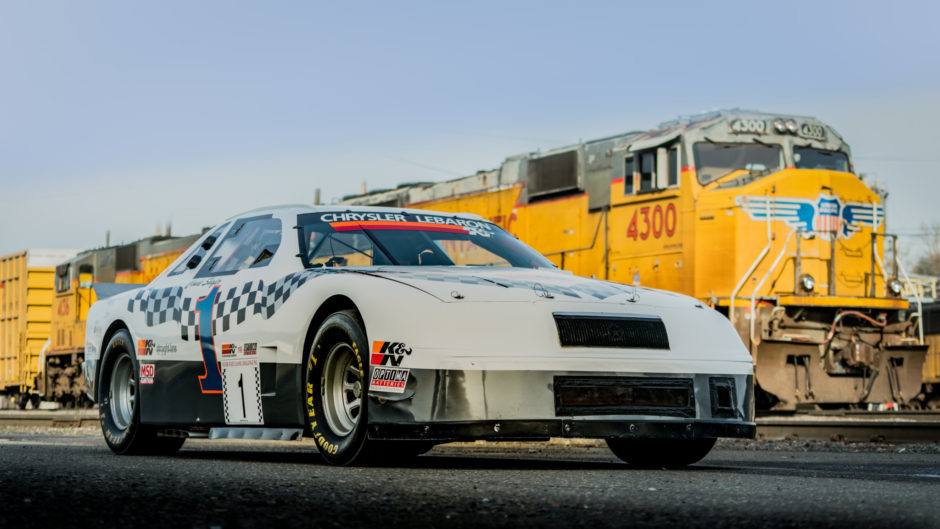 Money No Object: One Bad 1987 Chrysler LeBaron – 224 MPH At The Silver State Classic!